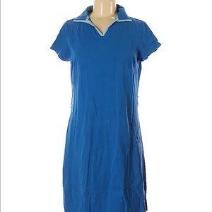 Duck Head Blue Polo Style Dress sz M